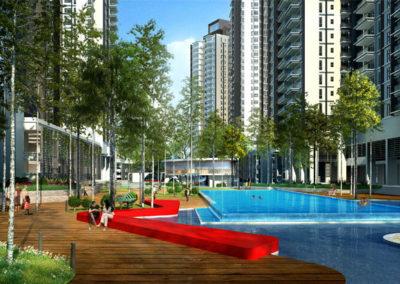 East Ledang - Pool Deck